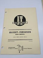 Massey Ferguson Shop Service Manual I&T Series Model mf255 mf265 mf275 repair