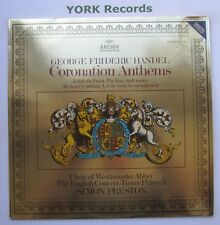 2534 005 - HANDEL - Coronation Anthems CHOIR OF WESTMINSTER ABBEY - Ex LP Record