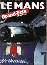 Grand Prix International 6/82 Special Edition No Number Le Mans Rothmans Porsche