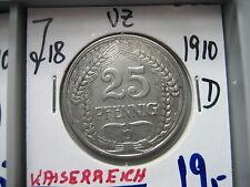 J 18 25 penique 1910 d en vz