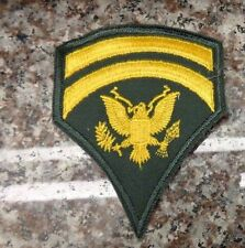 VIETNAM ERA, FIRST STYLE  EMBROIDERED ON TWILL, SPECIALIST SIX  E-6