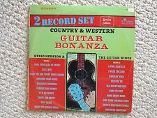 Country & Western Guitar Bonanza 2 Record Set LP Album  TDS 3004 (#2332).