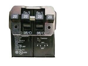 Eaton Cutler-Hammer BQ220220 Quadplex Circuit Breaker