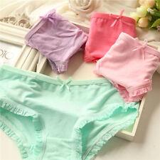Wholesale Women's 12pcs Color Random Pants Bow Cut Modal Cotton Briefs Underwear