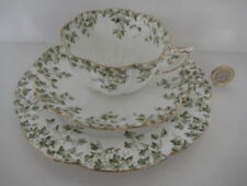 Unboxed Tea Cup & Saucer Green Porcelain & China