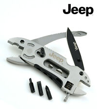 JEEP Multi-function Survival Knife with Multi-tool Pliers Spanner Bottle Opener