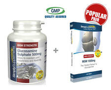 Glucosamine Sulphate 500mg 360 Tablets & MSM 1000mg 120 Tablets | Joint Health