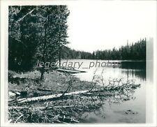 Mystery Lake Uintah Mountains Utah 1972 Original News Service Photo