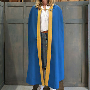 Pair of Blue & Yellow Choir Robes with Clasp Fixing