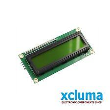 XCLUMA 1602 16x2 LCD 16 x 2 MODULE HD44780 GREEN DISPLAY ARDUINO OTHER BE0009