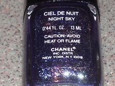 Chanel Vernis CIEL DE NUIT / NIGHT SKY Vintage SPARKLY Polish Super RARE NEW!!