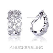 Leverback Natural Fine Diamond Earrings