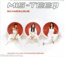 MIS-TEEQ - SCANDALOUS  (4 tracks plus CD-rom video, CD single)