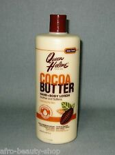 QUEEN HELENE - Cocoa Butter - Hand & Body  Lotion für trockene Haut - 907 g