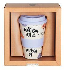 Bamboo Coffee-to-go-Becher  VINTAGE ART Retro Grafik Werkstatt 60711