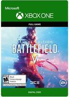 Xbox One Games Digital Code - Battlefield V/NBA 2K19/Horizon 4/Fallout 76...
