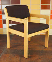 60er Vintage Sessel Lounge Easy Chair Stuhl Danish Armlehnstuhl Mid-Century 1/6