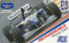 Rothmans - F1 Phonecard - Includes Instruction Booklet