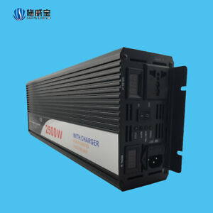 2500W Off-grid Inverter With Charger Electrical Protection And Monitoring