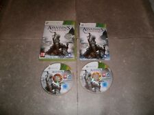 Jeu XBOX360 PAL Version Française: ASSASSIN'S CREED III - Complet TBE