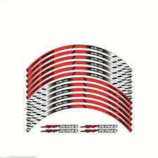 1 SET For Aprilia SXV500 Motorcycle Wheel Decals Reflective Stickers Rim Stripes