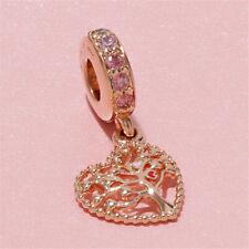 Genuine Pandora ALE R Rose Gold Tree Of Love Pendant Charm 786592CZSMX  PC170