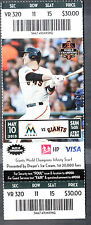 San Francisco Giants vs Miami Marlins May 10 2015 Unused Ticket Buster Posey Pic