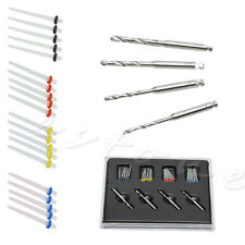 1 Box Dental Screw 4 Drills Fiber 20 Pcs Fiber Post Dentist Product Kit