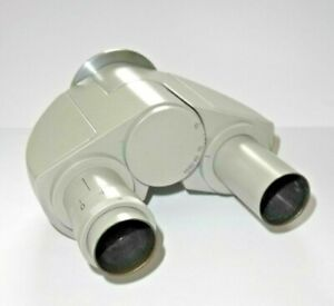 Binokulartubus, Carl Zeiss Jena, Mikrovalserie Mikroskop, Diopt.-Korrektur fest
