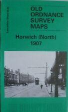 Old Ordnance Survey Maps Manchester Victoria Park /& Longsight 1916 Godfrey Ed
