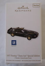 Hallmark 2012 Classic American Cars #22 Series 1977 Pontiac Trans Am Ornament