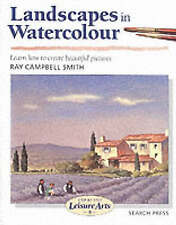"""NEW"" Landscapes in Watercolour (SBSLA08) (Step-by-Step Leisure Arts), Campbell"