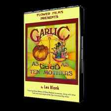 LES BLANK Garlic Is As Good As Ten Mothers 1980 New DVD documentary region 1