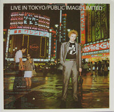 Public Image Limited ‎– Live In Tokyo CD Uk 1986 Virgin ‎– VGDCD 3508 NM/Nm