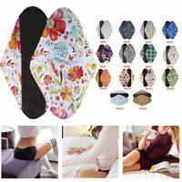 Charcoal Reusable Sanitary Towel Pads Bamboo Cloth Mama  Menstrual CSP Pad LT1