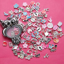 2017 sell Wholesale 50pcs lot Floating Charm for Glass Living Memory Locket Gift