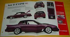 1987 Buick Regal 260 ci V8 T Type Modified Turbo IMP info/Specs/photo 15x9