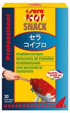 sera Koi Snack 20 St. Leckerbissen Knabberstangen 72210