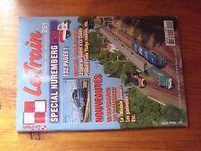 $$$ Revue Le Train N°251 BB 67300  Gueret - La Chatre  Thalys  BB 900  Ganivelle