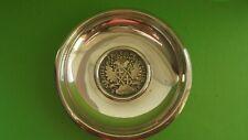 More details for antique 917 silver malta 30 tari coin dish '' ferdinand von hompesch '' 1798