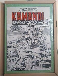 Jack Kirby Kamandi Volume 2 Artist's Edition Sealed NM