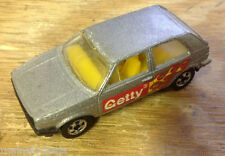 1989 Mattel Hot Wheels Getty Volkswagen Golf! See Pics!