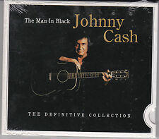 CD DIGISLEEVE 24T JOHNNY CASH THE MAN IN BLACK THE DEFINITIVE COLLECTION NEUF