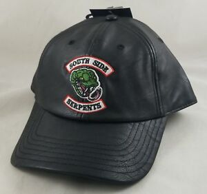 New Riverdale Southside Serpents Faux Leather Hat Dad Cap Hot Topic Exclusive