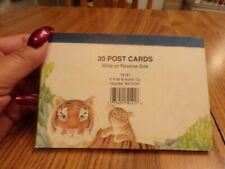 Vtg Postcard Lot of 30 Tigers