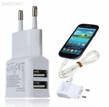 E273 12W 2 Ports USB Travel Charger Adapter EU for Samsung Tab PC iPad iPhone