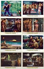 THE FORBIDDEN PLANET (1956) U.S. Lobby Cards Complete Set of 8