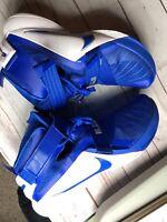 Nike Lebron James Soldier IX 9 TB Men Blue White 813264-441 Size 17.5 NIB
