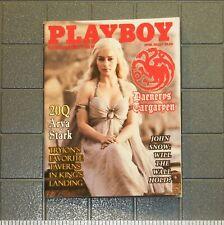 1/6 Scale Custom Playboy - Daenerys Targaryen - full interior - Game of Thrones