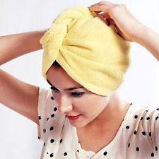 Magic Hair-drying Women Towel Cap Bath Lady's Hat Towel - 01